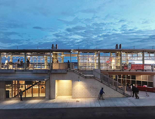 Seattle, Miller Hull Partnership, American Institute of Architects, Pacific Northwest, Gensler, San Diego, Brooks + Scarpa Architects, Pike Place MarketFront
