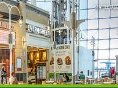 Sea-Tac Airport, Port of Seattle, Lucky Louie Fish Shack™, Evergreens Salad, Pallino Pastaria, Pei Wei Asian Kitchen, Koi Shi Sushi Bento, Pacific Northwest