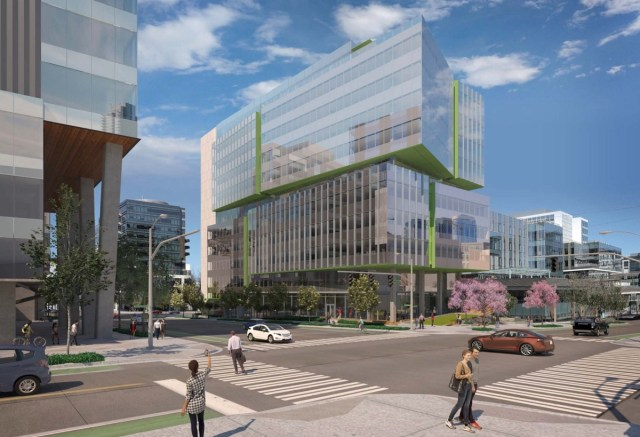 Seattle, South Lake Union, Vulcan, Amazon, Google, Facebook, ZGF Architects, Hewitt, EDG, Kilroy Realty, Seattle Cancer Care Alliance, BioMed Realty