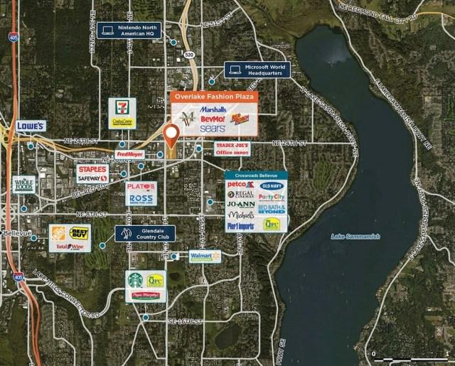 Seattle, Regency Centers, Seritage Growth Properties, Redmond, King County records, Bellevue, Melrose Market, Ballard Blocks