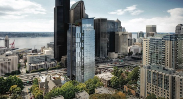 Seattle, First Hill, Trinity Parish, Caydon U.S.A., Trinity Tower, East Design Review Board, Memorial Garden, Art Gallery
