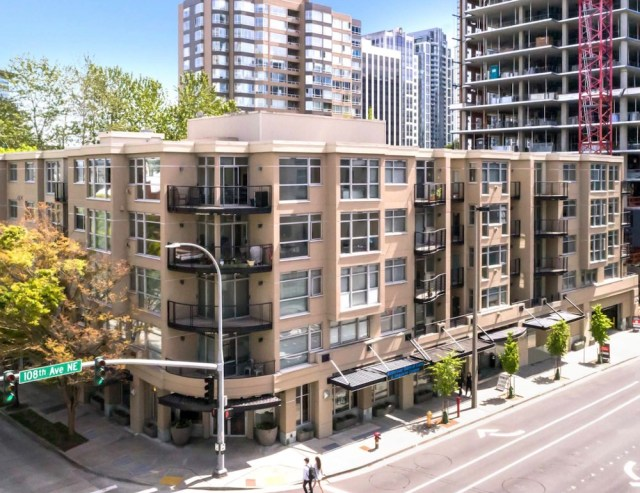 Seattle, Limestone Court Apartments, Sunset Ridge Development Co. Inc, West Freeman Properties, Bellevue Downtown Association