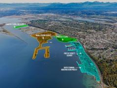Port of Everett, Kimberly-Clark Mill, Naval Station Everett