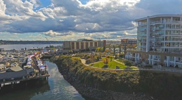 Sound West Group, Marina Square, Bremerton, Pyatt Broadmark Management, Palmer Capital Inc.