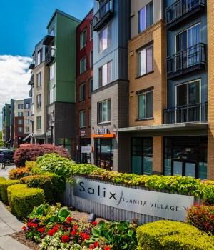 Kirkland Salix Juanita Village Rise Properties Trust Thrive Communties Seattle apartment Puget Sound