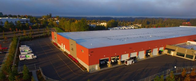 FedEx, PMF Investments, Redmond, RPT Seattle East Industrial, Cushman & Wakefield, Redmond West on Willows, Crown Distribution Building