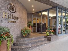 Hilton Seattle CIM Group Barings 1301 6th Ave. Kidder Mathews Bothell Bellevue Hotel Market Report rooms Puget Sound investment