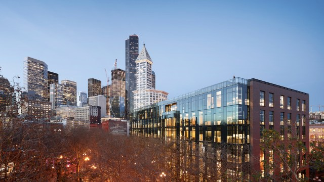 Urban Visions, 200 Occidental, Weyerhaeuser, Pioneer Square, JLL, Seattle, Mithun