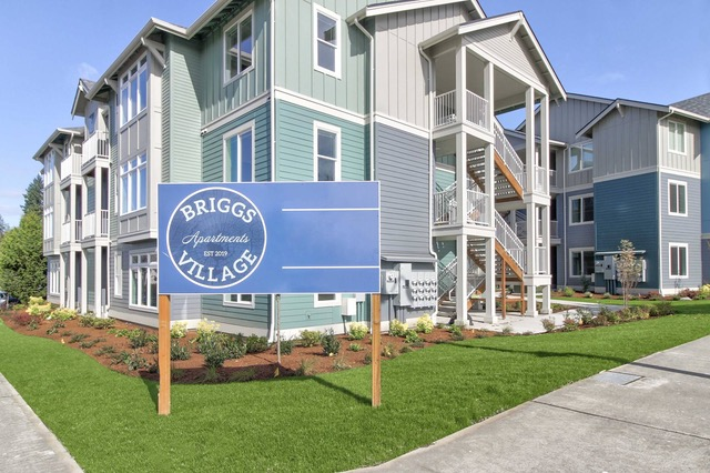 CBRE, Briggs Village, Olympia, Joint Base Lewis-McChord, Bridge Apartments LLC