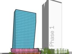 Amazon, Bellevue, NBBJ, Bellevue 600, Trammell Crow, Binary Towers