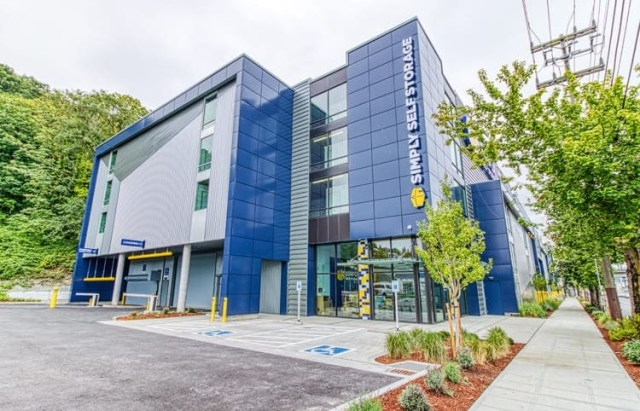Blackstone Simply Self Storage Blackstone Real Estate Income Trust Seattle Ballard Interbay Queen Anne BREIT