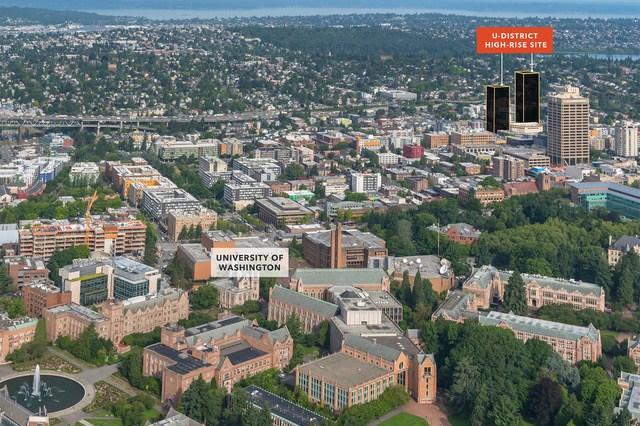 U-District, Kidder Mathews, Seattle, VIA Architects, University of Washington