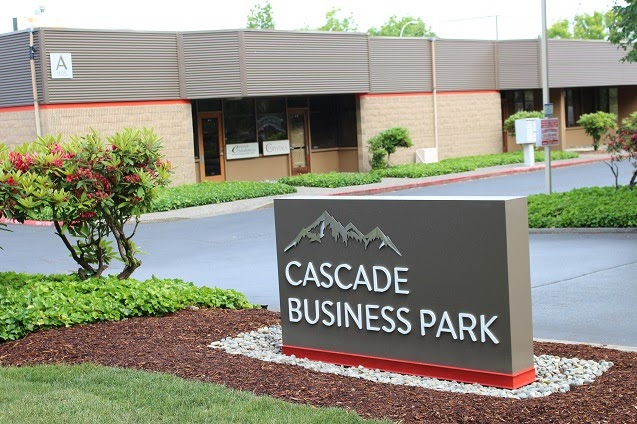 Cascade Business Park, Issaquah, Sterling Realty Organization, Broderick Group, REI, Alexandria Real Estate, Alco Investment Company