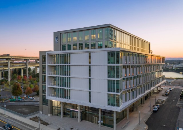 Portland, Knight Cancer Research Building, SRG Partnership, Oregon Health & Science University, Schnitzer Campus, KPFF Consulting Engineers, PAE Consulting Engineers, B & H Architects, Integral Group, CPP