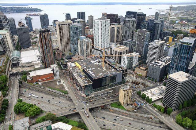 Washington State Convention Center, Seattle, Clark Construction, Lease Crutcher Lewis, American Bridge, LMN Architects