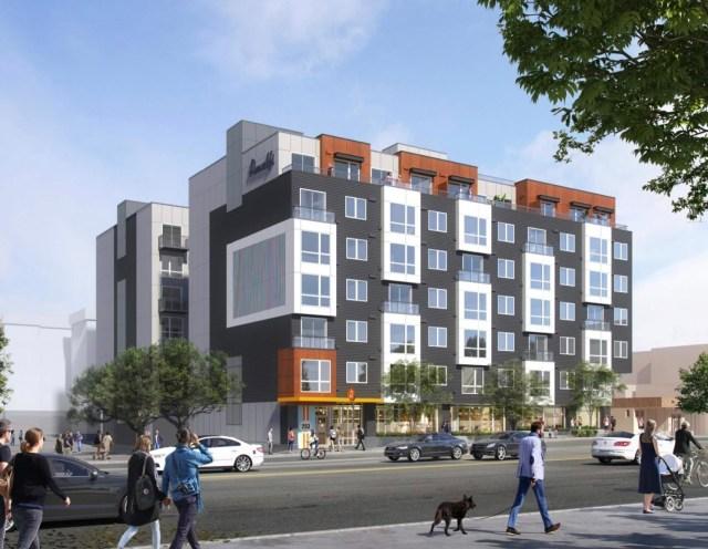 Amalfi Apartments, Seattle, Lake City, Tiscareno Associates, EPIC Asset Management, Dick's Drive-In, The Blueline Group