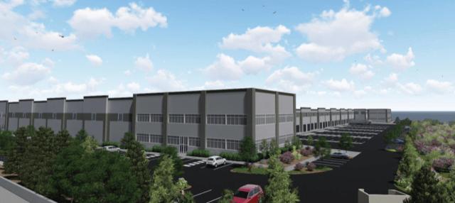 Everett industrial NorthMarq Seattle Onward Investors Latitude Development Baywood Park Puget Sound