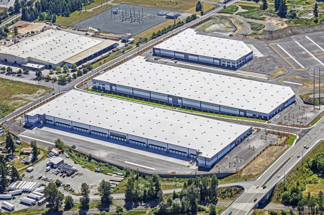 Tacoma Supply Chain Center Dalfen Industrial Panattoni Kent Valley Seattle