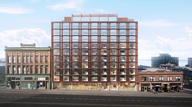 Burrard Properties, Archetype, Herzog & de Meuron, HEWITT, Seattle, Belltown