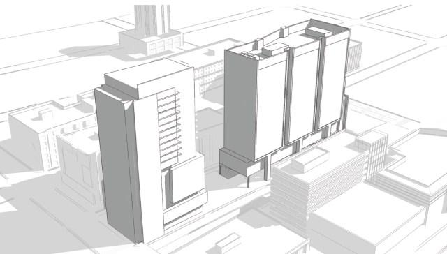 Half Price Books, OneLin, Seattle, University District, OneX, MZA, SKB Architects