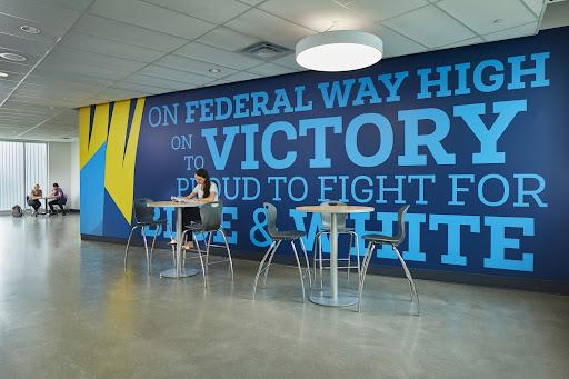 Federal Way, Federal Way High School, SRG Partnership, Seattle