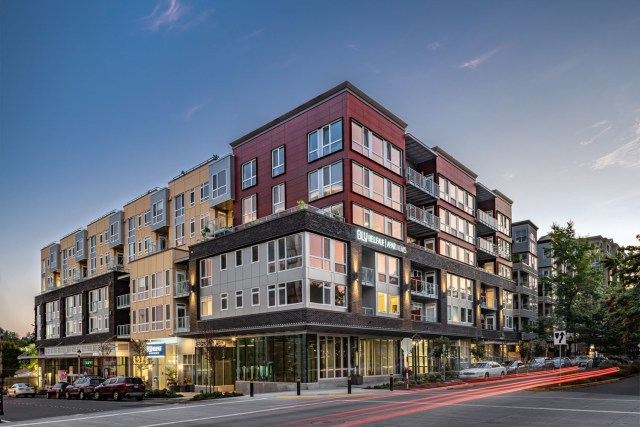 Virtu Investments, Blu Bellevue, Continental Properties, Encore Architects, Bellevue, IPA