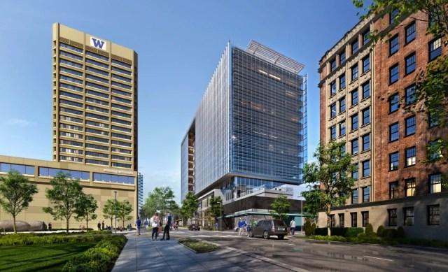 LPC West, Intercontinental, Seattle, University of Washington, University District, Perkins + Will, University District Station Building, GLY,