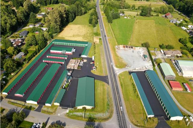 Marcus & Millichap, Sedro-Wooley, All Valley Mini Storage,