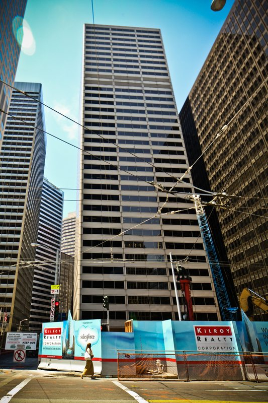 Kilroy construction site San Francisco The Registry real estate