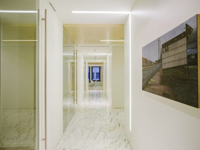 Atel Capital hallway The Registry real estate