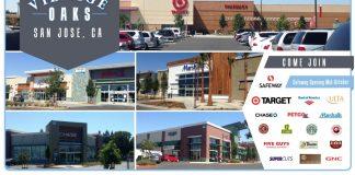 Village Oaks, San Jose, Bay Area, JLL, Terranomics, Hunter Properties, Cupertino, PCCP, Blossom Hill, retail news, commercial real estate