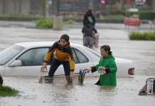 McNellis, John McNellis, McNellis Partners, Safeway in Healdsburg, flood in Healdsburg, California rain flooding, Sonoma floods