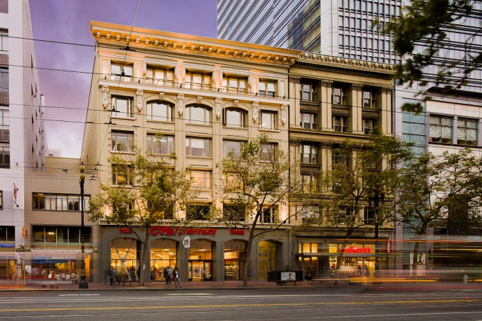 Jamestown, Downtown San Francisco, commercial real estate news, The Bancroft Building, JLL, Alameda, SOMA, Financial District, Mid-Market, ConnectSolutions