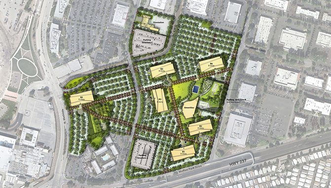 Siteplan Moffett Place Jay Paul Google Sunnyvale