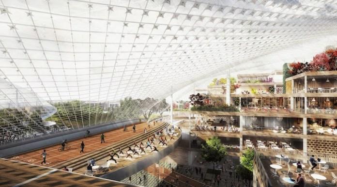 Mountain View, Google, LinkedIn, North Bayshore Precise Plan, Heatherwick Studio, BIG, development, technology campus