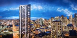 Jasper, Crescent Heights, San Francisco, NEMA, Build Group, 45 Lansing Street, San Francisco apartment, Stanley Saitowitz