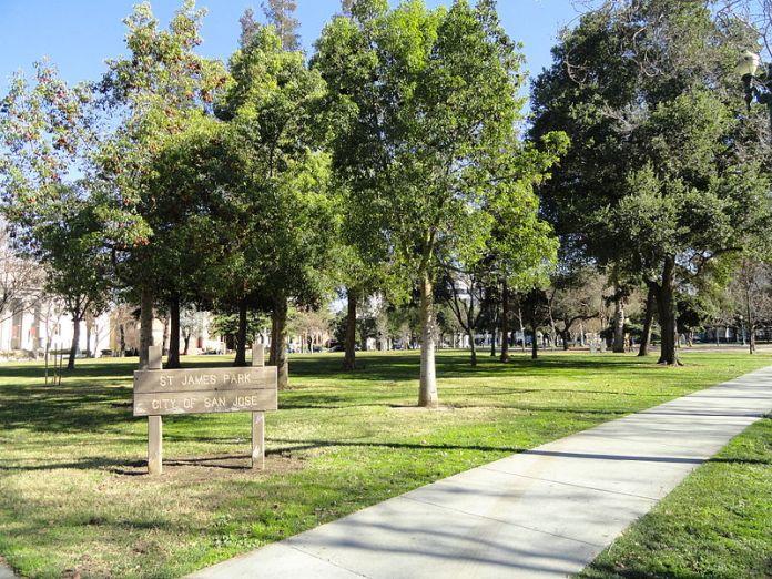 St James Park, San Jose, Barry Swenson Builder, Park View Towers, Fairfield Residential, Marshall Squares, San Jose Downtown Association
