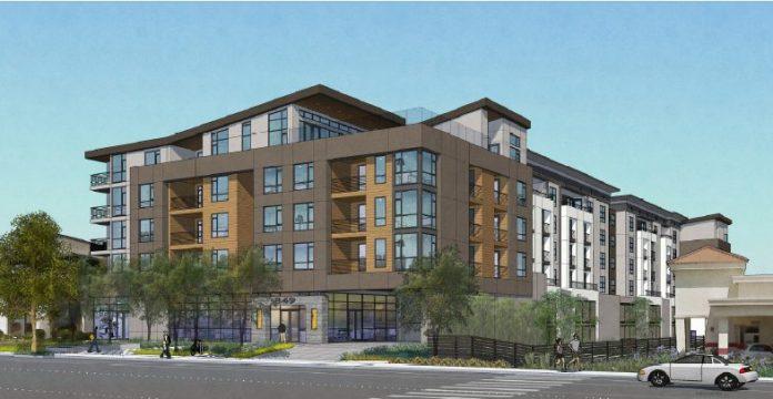 Redwood City, Sares Regis Group, Northern California, San Mateo, TIAA-CREF, 849 Veterans Blvd, Peninsula housing, Bay Area real estate