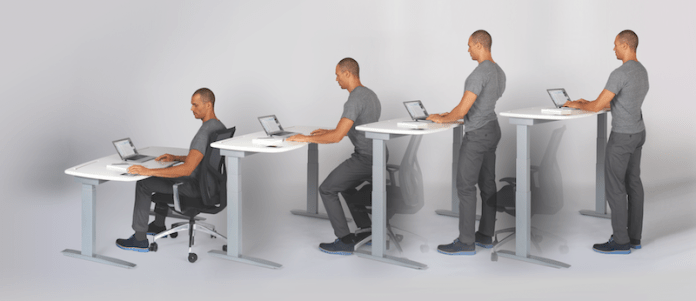 Chair, Humanscale, Tome, OfficeIQ, Fitbit, Kinetic Desk, Stir