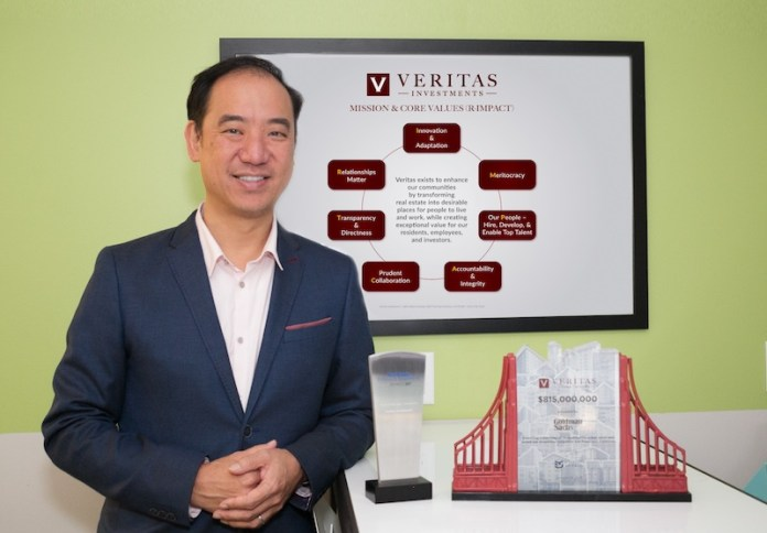 Pioneering Property,Record Aggregation Strategy,Veritas Investments,San Francisco,Bay Area,New York,