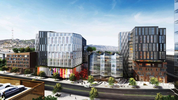 Kilroy Realty, San Francisco, Bay Area, REIT, 100 Hooper project, Palo Alto's Stanford Research Park, Theranos, LEED Platinum, BioMed Realty