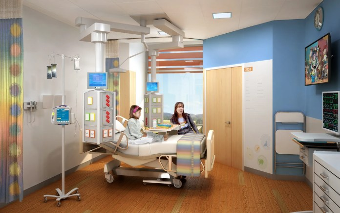 HGA, San Francisco, Bay Area, Stanford Children's Health and Lucile Packard Children's Hospital Stanford, DPR Construction, Perkins+Will