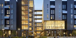 Equity Residential, David Baker Architects, Best Multifamily Housing Community, Daggett Park, San Francisco, Bay Area