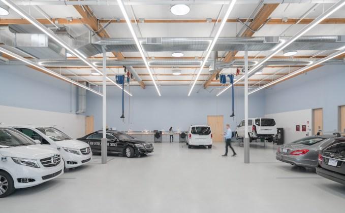 Silicon Valley DesignLink Tesla Mercedes-Benz Ford BMW Bosch Sunnyvale Hillhouse Commercial Construction CBRE DGA H&S Properties Mountain View Palo Alto
