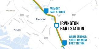 BART Station, City of Fremont, Fremont Open City Hall, Irvington District, Irvington BART Station, Warm Springs, Alameda County Transportation Commission