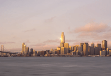 Silicon Valley, Salesforce Tower, Transamerica Tower, Transbay Joint Powers Authority, Transbay Terminal Redevelopment, Pelli Clarke Pelli Architects, Hines, Magnusson Klemencic Associates,