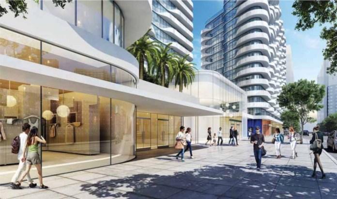 San Jose's Terrascape Ventures, San Jose, San Pedro Square, Davidson Plaza Towers, Diridon station, Bay Area, Arquitectonica Architects, DAL Properties, San Jose Planning Commission, Downtown Environmental Impact Report plan, Silvery Towers,