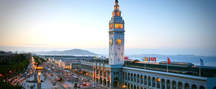 San Francisco, Blackstone Group, Equity Office, Ferry Building, Allianz Real Estate, Hudson Pacific Properties