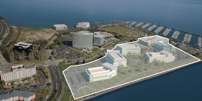HCP, South San Francisco, Sierra Point, The Cove, Irvine, campus-style, life sciences development project, Phase III, Phase II