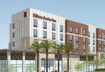San José, Westlake Urban, Hilton Worldwide, Hilton Garden Inn, Enterprise Rent-A-Car, Bay Area, East Gish Road, Four Points Sheraton, Holiday Inn, City Planning Department, City's Fire, Building and Public Works Departments
